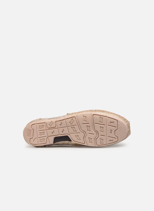 Loafers Skechers Luxe Bobs/Big Dreamer Bronze and Gold view from above