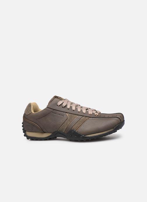 Sneaker Skechers Urbantrack/Forward braun ansicht von hinten