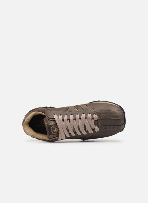 Sneaker Skechers Urbantrack/Forward braun ansicht von links