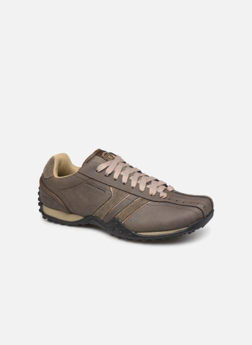 Trainers Skechers Urbantrack/Forward Brown detailed view/ Pair view