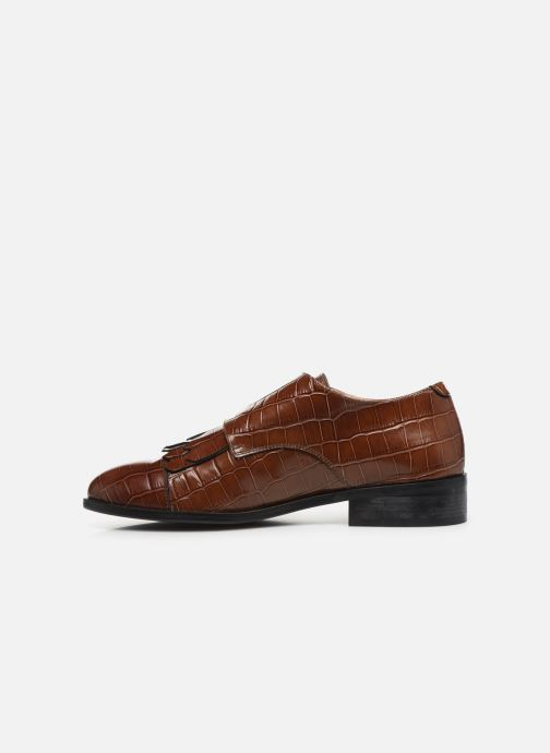 Loafers Petite mendigote VALERE Brown front view