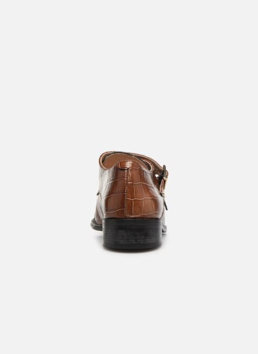 Loafers Petite mendigote VALERE Brown view from the right