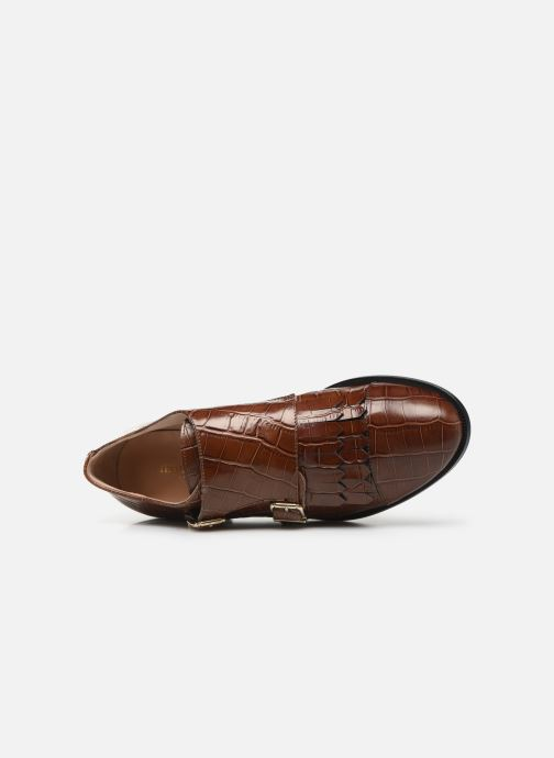 Loafers Petite mendigote VALERE Brown view from the left
