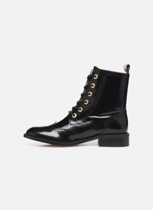 Bottines et boots Petite mendigote GABRIELLE Noir vue face