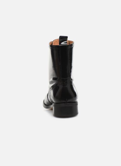 Bottines et boots Petite mendigote GABRIELLE Noir vue droite