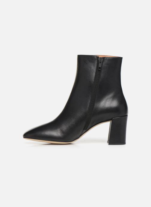 Bottines et boots Petite mendigote CLAUDETTE Noir vue face