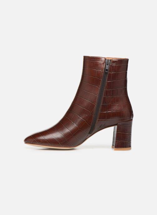 Bottines et boots Petite mendigote CLAUDETTE Marron vue face