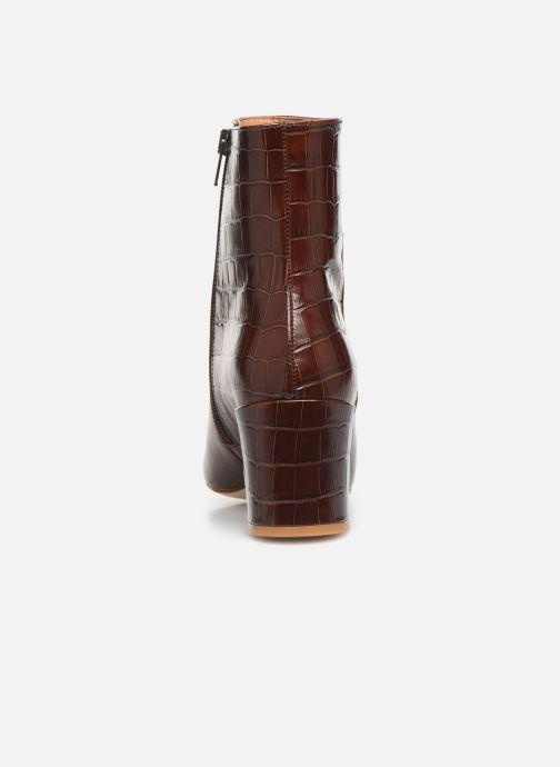 Bottines et boots Petite mendigote CLAUDETTE Marron vue droite