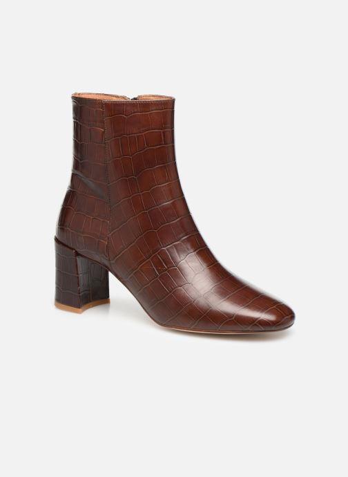 Bottines et boots Petite mendigote CLAUDETTE Marron vue détail/paire