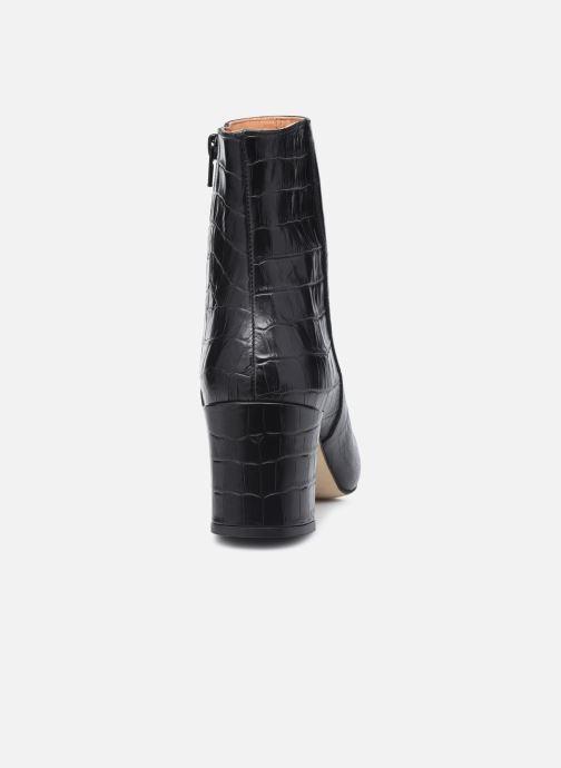 Bottines et boots Petite mendigote Claudette Noir vue droite