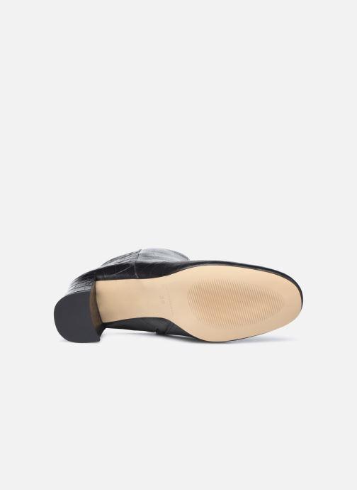 Bottines et boots Petite mendigote Claudette Noir vue haut