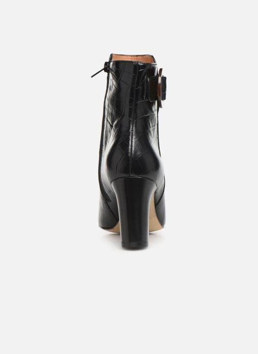 Bottines et boots Petite mendigote BERTILLE Noir vue droite