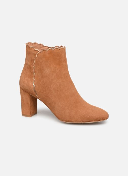 Bottines et boots Petite mendigote MAURICETTE Marron vue détail/paire