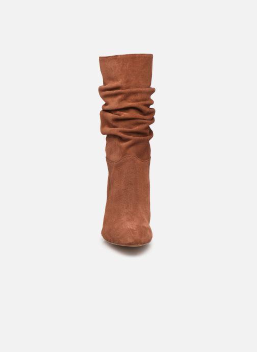 Bottines et boots Petite mendigote BLANDINE Marron vue portées chaussures