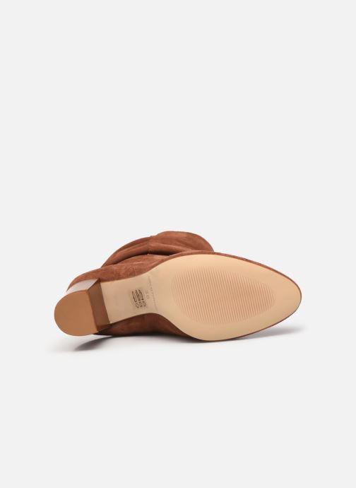 Bottines et boots Petite mendigote BLANDINE Marron vue haut