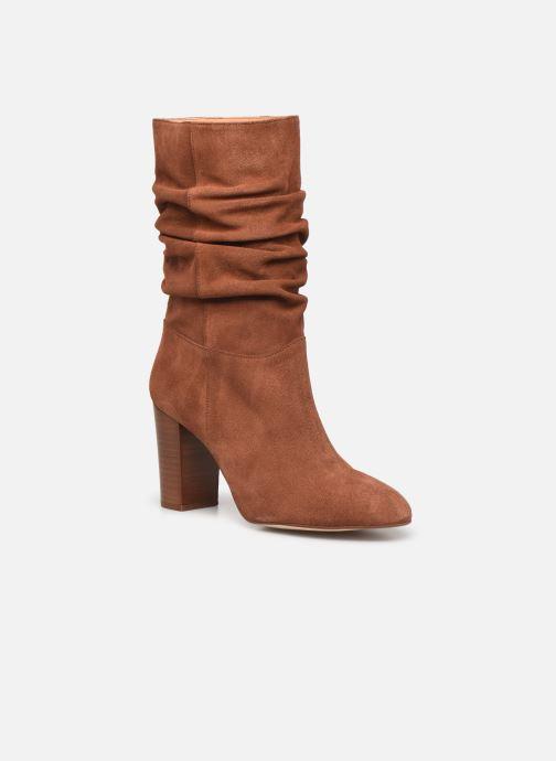 Bottines et boots Petite mendigote BLANDINE Marron vue détail/paire