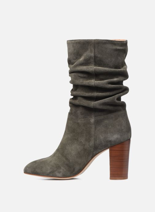 Bottines et boots Petite mendigote BLANDINE Vert vue face