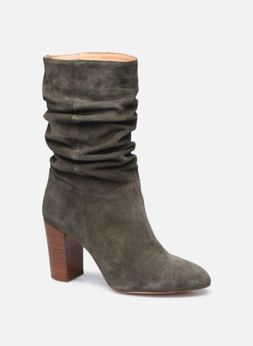Bottines et boots Petite mendigote BLANDINE Vert vue détail/paire