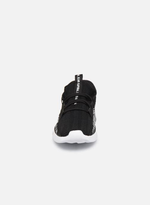 Baskets Kaporal Dofino Noir vue portées chaussures