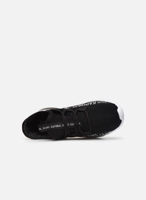 Sneaker Kaporal Dofino schwarz ansicht von links