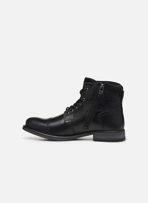 Boots en enkellaarsjes Kaporal Griffe Zwart voorkant