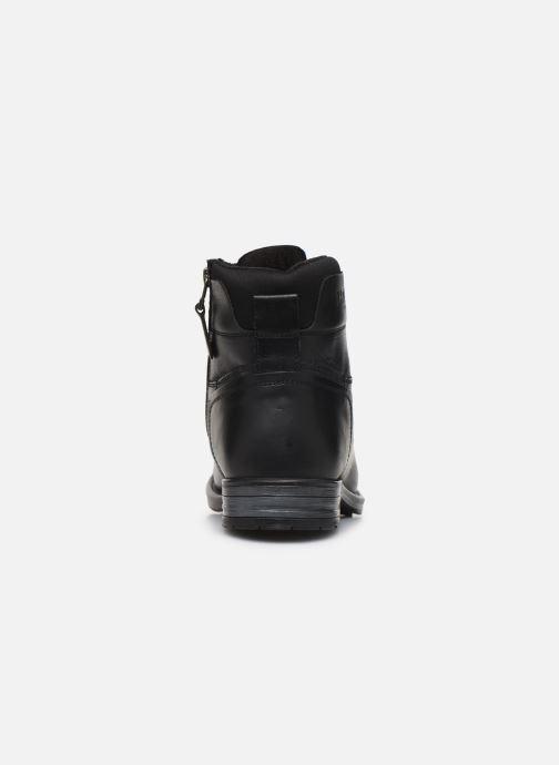 Boots en enkellaarsjes Kaporal Griffe Zwart rechts