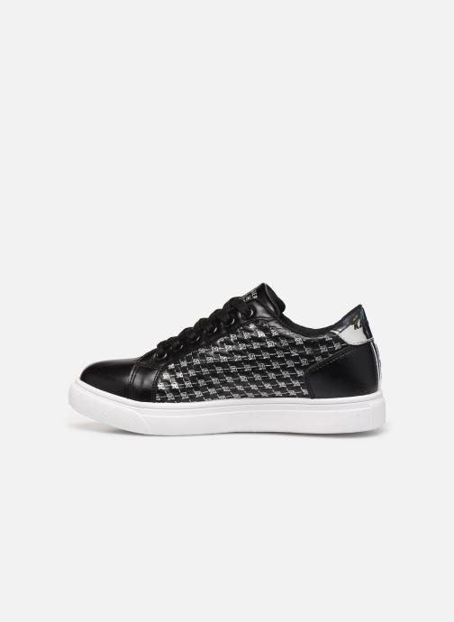 Sneakers Kaporal Stone Zwart voorkant