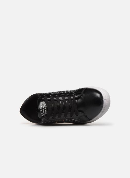 Sneakers Kaporal Stone Zwart links