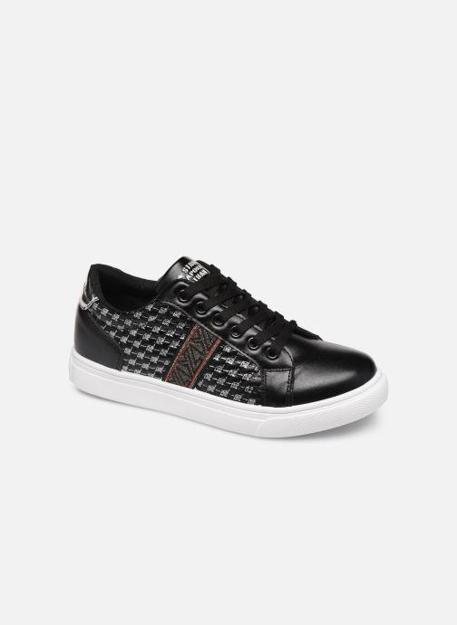 Sneakers Kaporal Stone Zwart detail