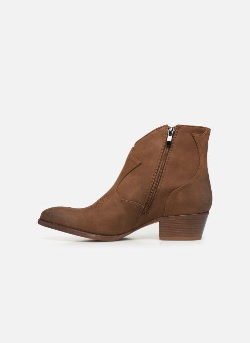 Bottines et boots Kaporal Sabrina Marron vue face