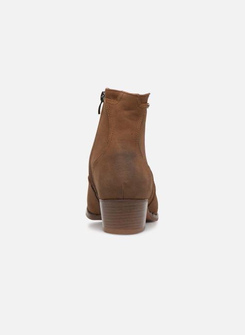 Bottines et boots Kaporal Sabrina Marron vue droite