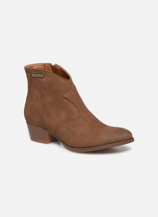 Bottines et boots Kaporal Sabrina Marron vue détail/paire