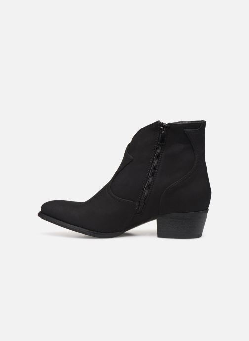 Bottines et boots Kaporal Sabrina Noir vue face