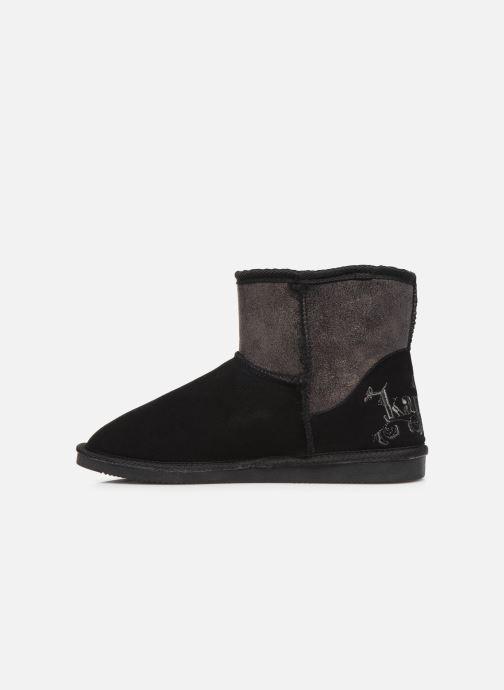 Boots en enkellaarsjes Kaporal Tignes Zwart voorkant