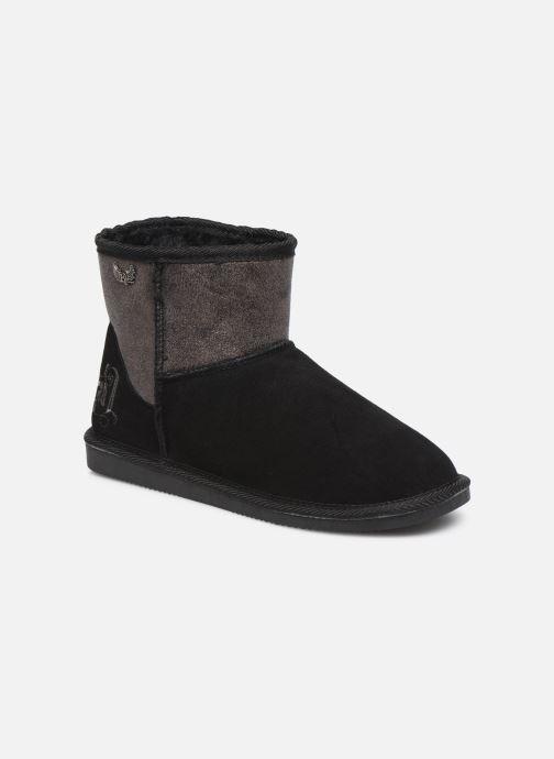 Boots en enkellaarsjes Kaporal Tignes Zwart detail