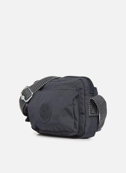 Handtaschen kipling ABANU grau schuhe getragen