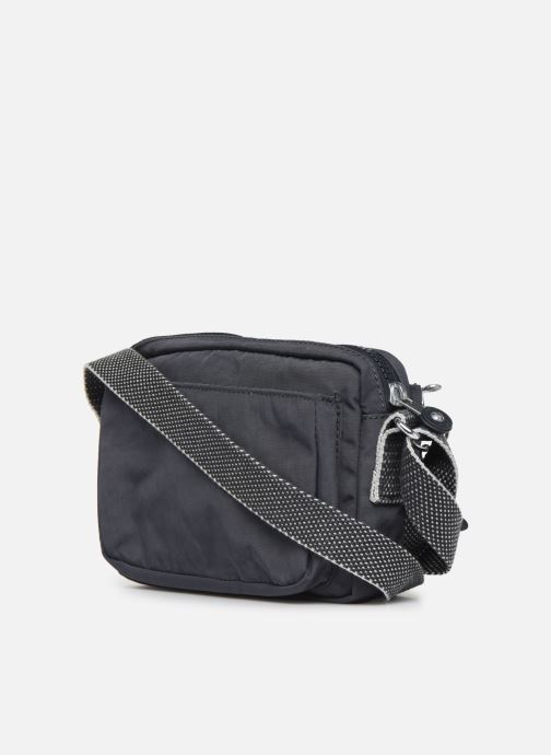 Handtaschen kipling ABANU grau ansicht von rechts