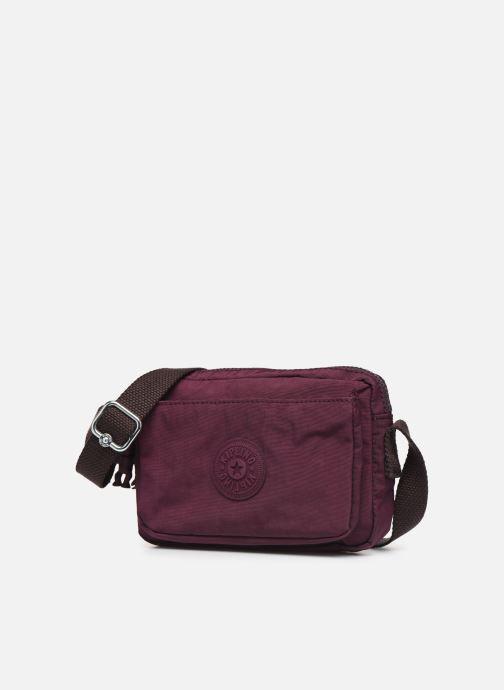 Handtaschen Kipling ABANU weinrot schuhe getragen