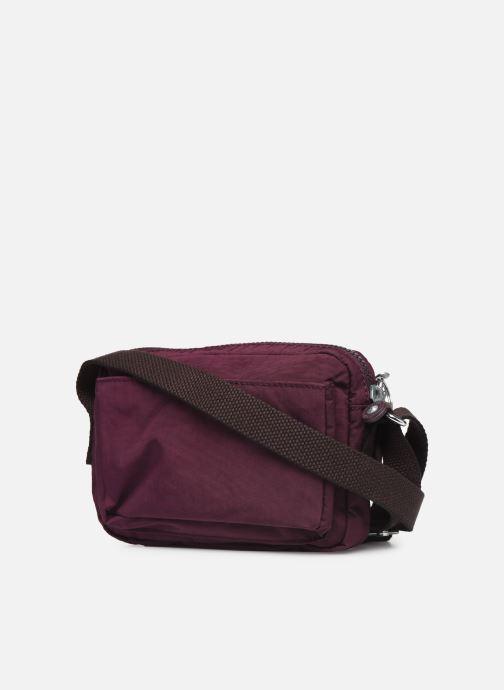 Handtaschen Kipling ABANU weinrot ansicht von rechts