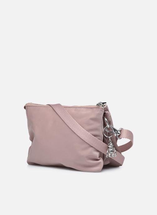Handtaschen Kipling Riri rosa ansicht von rechts
