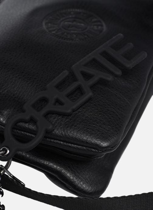 Handtaschen Kipling Riri schwarz ansicht von links