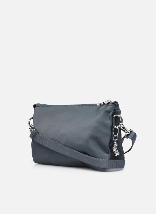 Handtaschen Kipling Riri grau ansicht von rechts