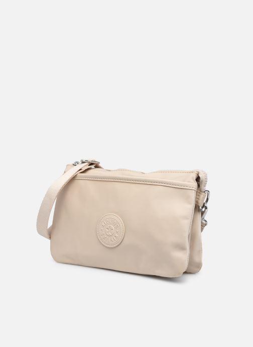Handtaschen Kipling Riri weiß schuhe getragen