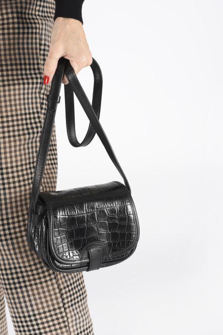 Handtaschen Great By Sandie JOE BESACE BB schwarz ansicht von unten / tasche getragen