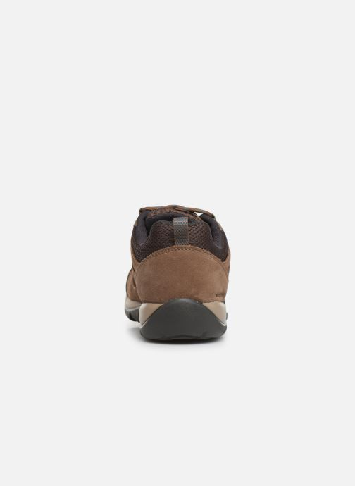 Chaussures de sport Columbia Redmond V2 Waterproof Marron vue droite
