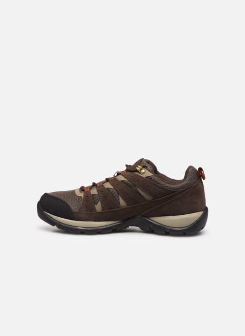 Chaussures de sport Columbia Redmond V2 Waterproof Marron vue face