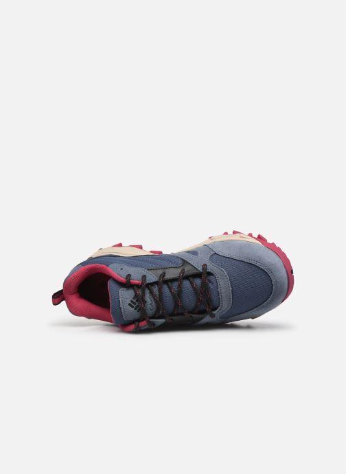 Zapatillas de deporte Columbia Ivo Trail Azul vista lateral izquierda