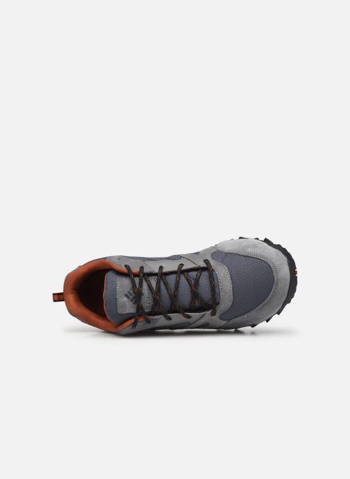 Zapatillas de deporte Columbia Ivo Trail Gris vista lateral izquierda