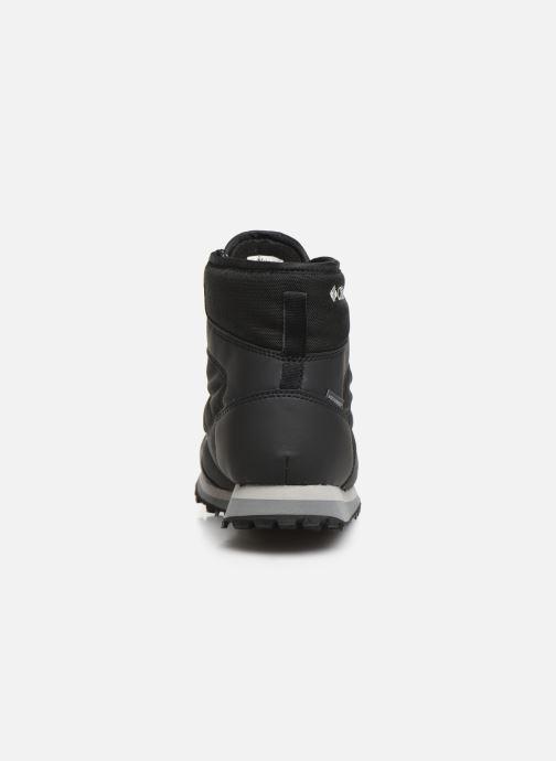 Zapatillas de deporte Columbia Wheatleigh Shorty Negro vista lateral derecha