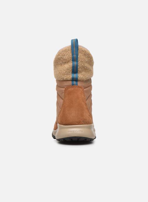 Zapatillas de deporte Columbia Nikiski Marrón vista lateral derecha